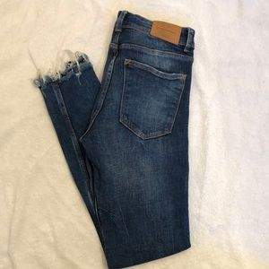 Zara Distressed Denim